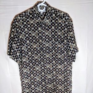 Pierre Cardin Short Sleeve Button Down Shirt M